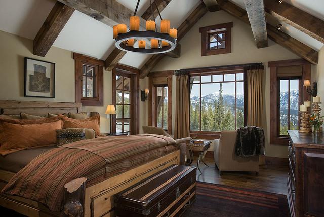 Elk Ridge Lodge Interior traditional-bedroom