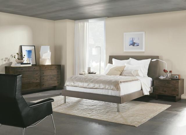 ella bed with stainless steel legs modern bedroom