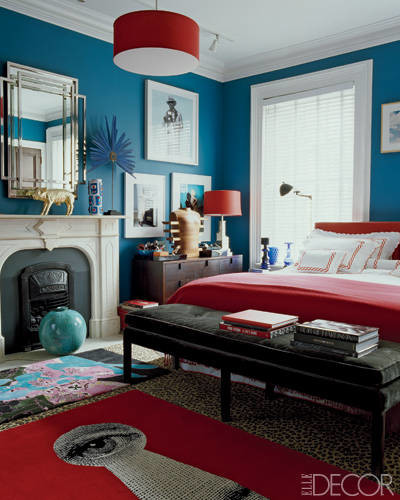 elle decor feature contemporary bedroom - Elle Decor Bedrooms
