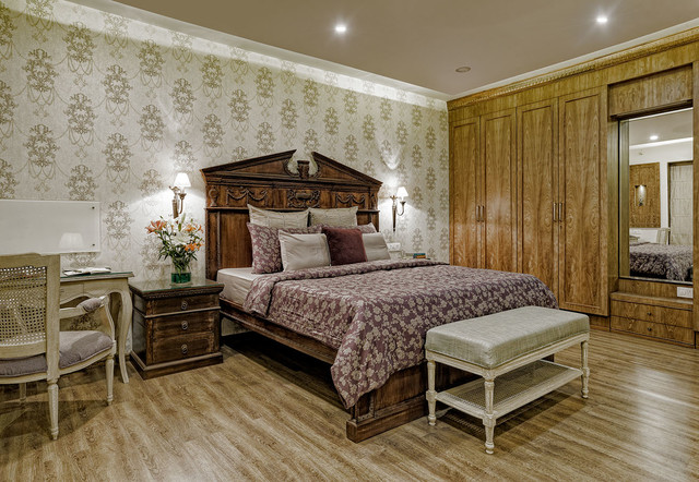 9 Alluring Bedrooms With A Brown Cream Colour Scheme