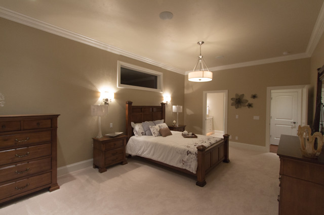 Empty Nester Golf Course Paradise! - 2013 Parade of Homes Model transitional-bedroom