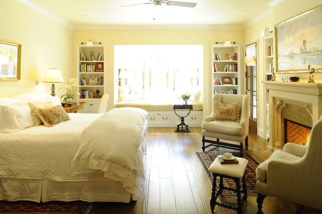 English arts and crafts traditional bedroom other for Arts and crafts bedroom ideas