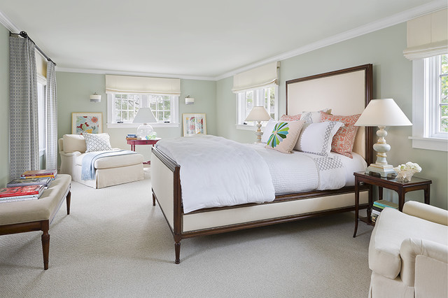 English colonial traditional bedroom minneapolis for Colonial bedroom decor