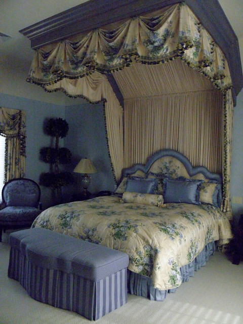 English Country Bedroom Traditional Bedroom New York