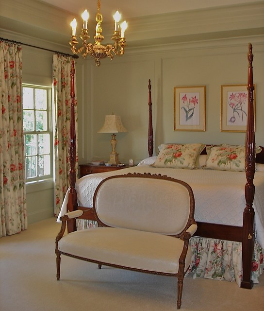 English Country Bedroom Enchanting English Country  Traditional  Bedroom  Houston Savant Design Decoration