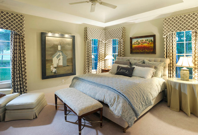 English Countryside American Traditional Bedroom