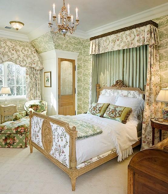 English Tudor - Traditional - Bedroom - San Francisco - by Linda L ...