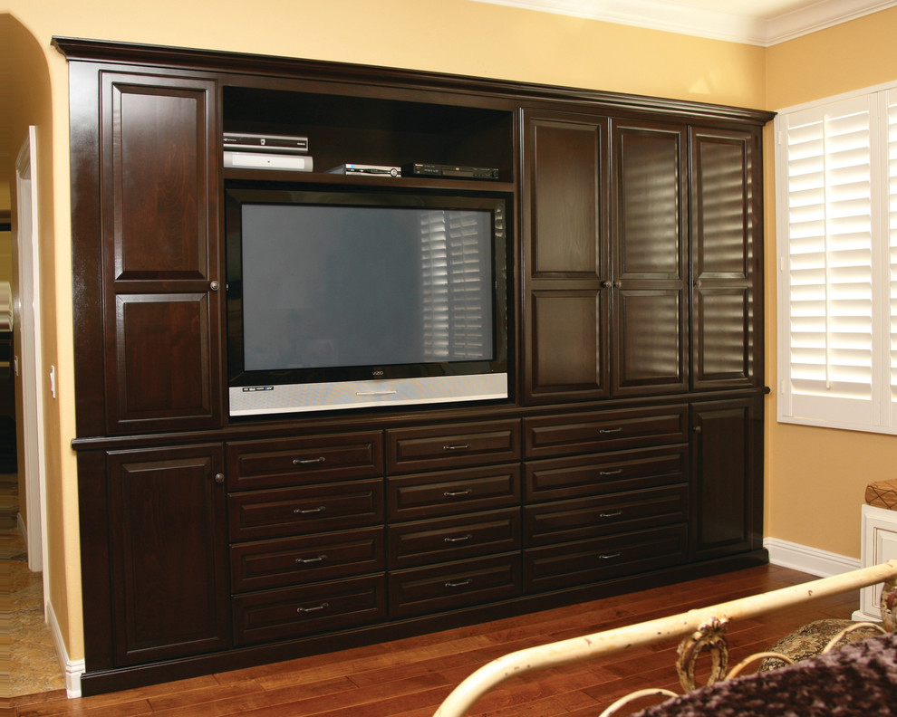 Entertainment Centers & Built-in Niches - Transitional ...