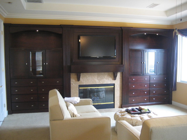 Entertainment centers and wall units for Bedroom entertainment center