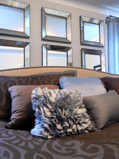 Erika Ward - Erika Ward Interiors contemporary-bedroom
