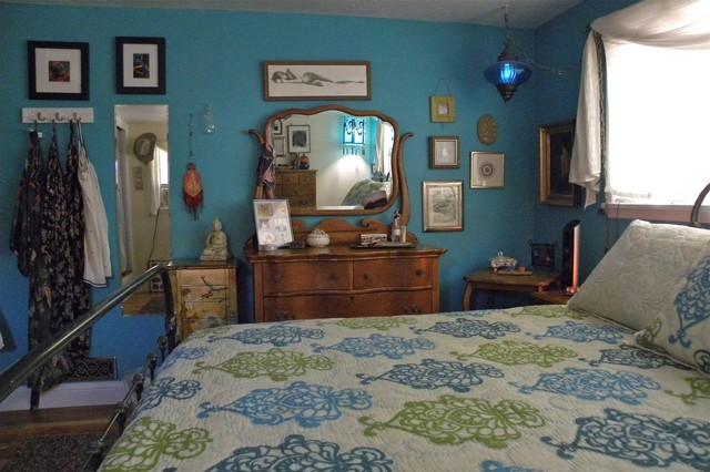 Erin Waldman eclectic-bedroom