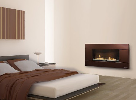 escea indoor gas florentine bronze fireplace ferro front