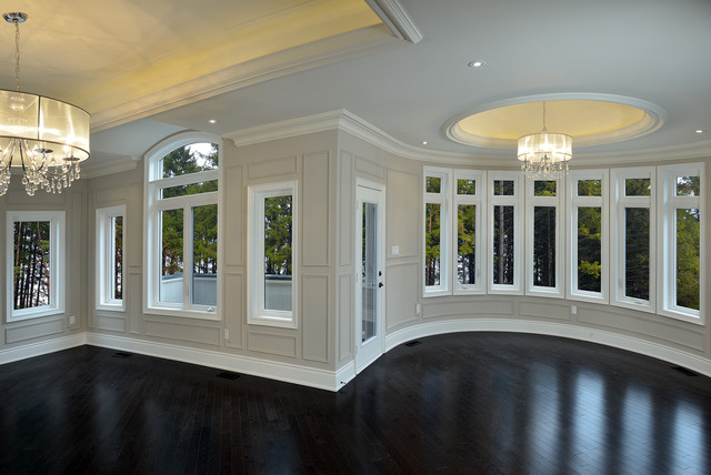 Estate custom home richmond hill ontario traditional for Richmond hill home builders