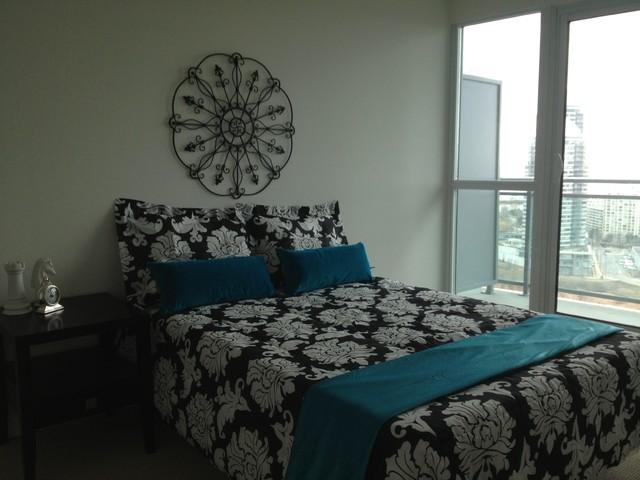 Etobicoke Condo Legion Road 2 Contemporary Bedroom Toronto By Stephanie O 39 Leary Style