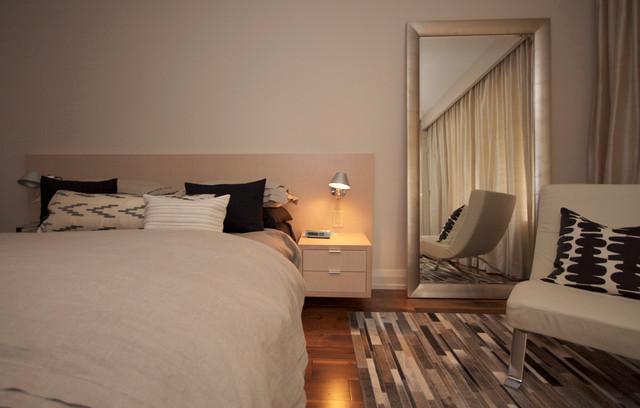 Etobicoke Residence contemporary-bedroom