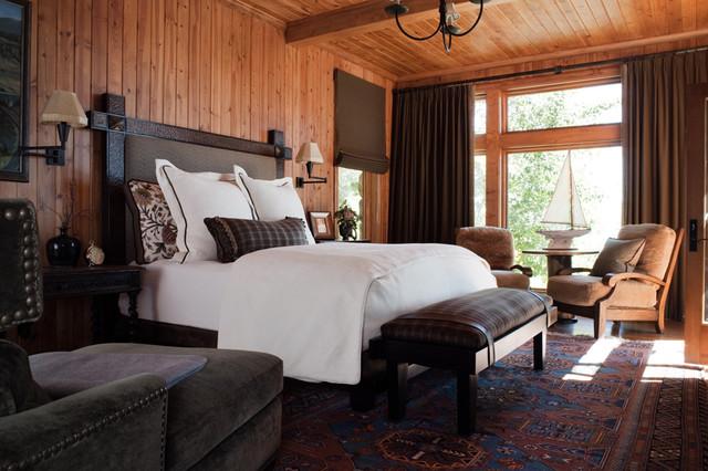 Europe Meets Tahoe Master Bedroom Eclectic