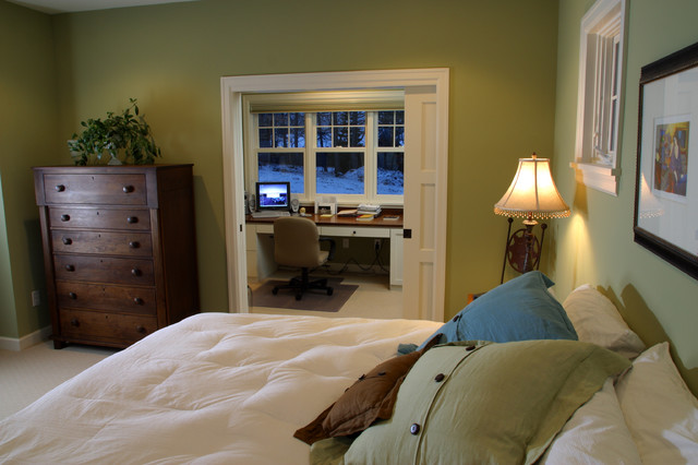 office in master bedroom excelsior farmhouse cottage traditional bedroom 16545