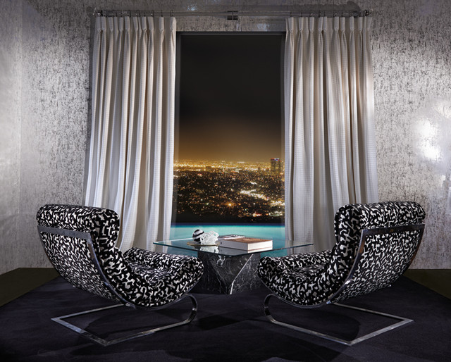 Fabrics And Upholstery Modern Bedroom London By