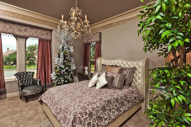 FAIR OAKS RANCH mediterranean-bedroom