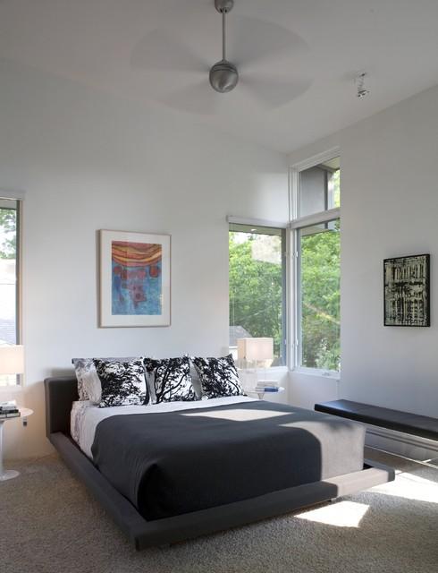 Fairfield House modern-bedroom
