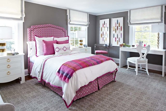 fairfield showhouse transitional bedroom other by