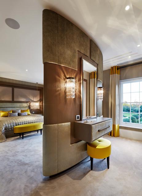 Fairlanes north london contemporary bedroom london for Interior designers north london