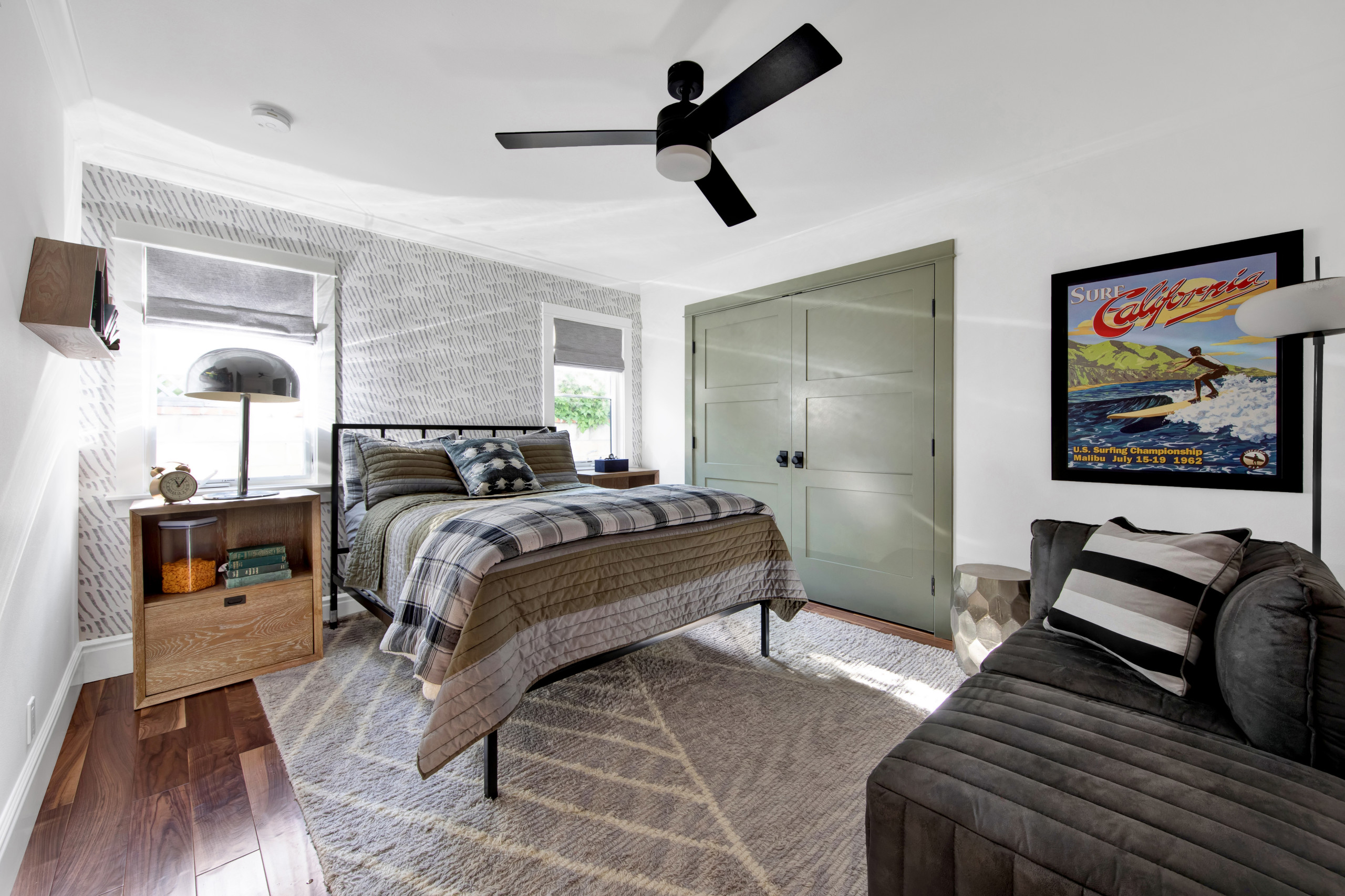 75 Beautiful Farmhouse Guest Bedroom Pictures Ideas Houzz