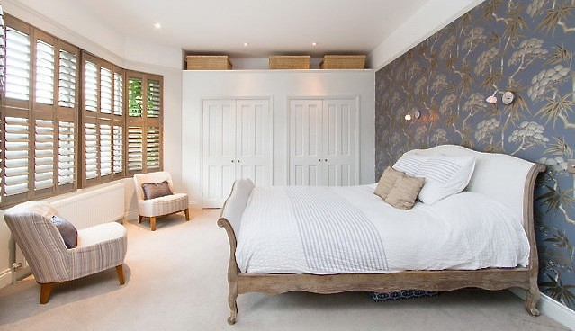 Period house contemporary-bedroom