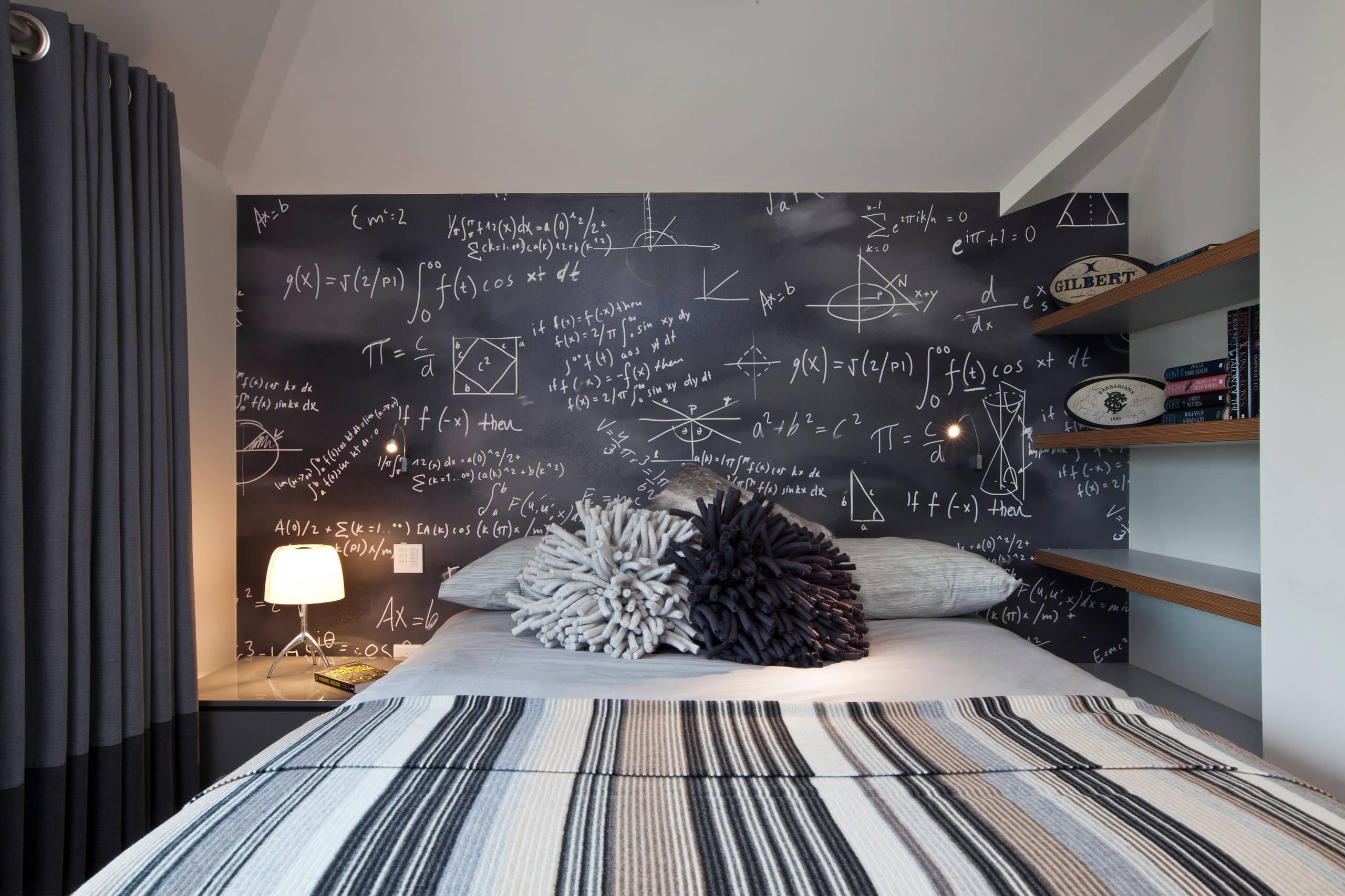 Image of: Black Teen Bedroom Houzz