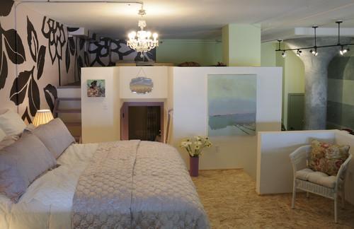 Fanciful Loft Bedroom
