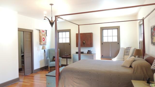 Farm House Addition farmhouse-bedroom