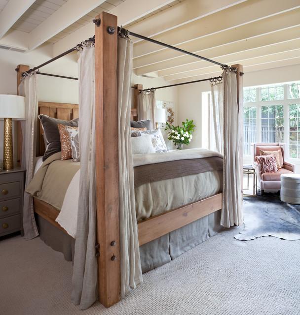 Farmhouse bedroom for Camera da letto di campagna francese