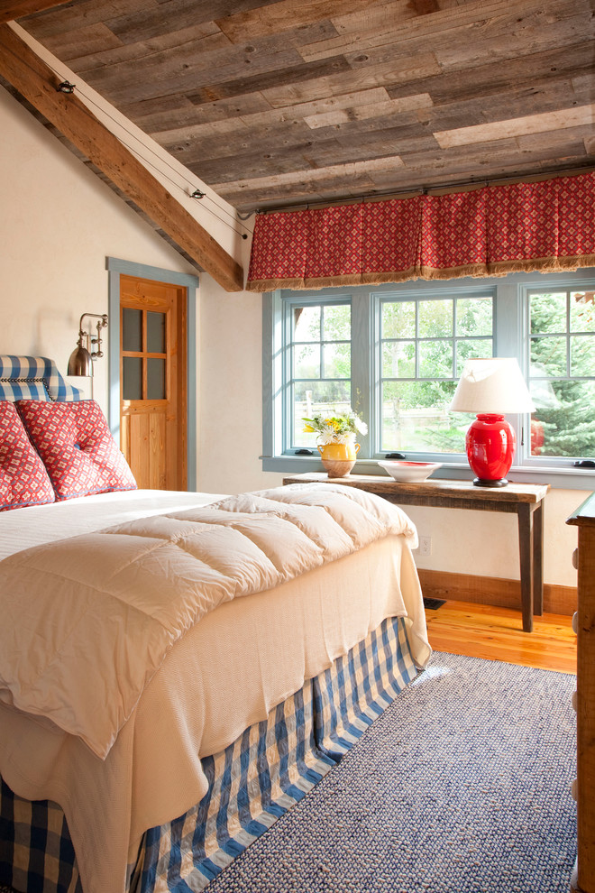 Bedroom - farmhouse bedroom idea in Other