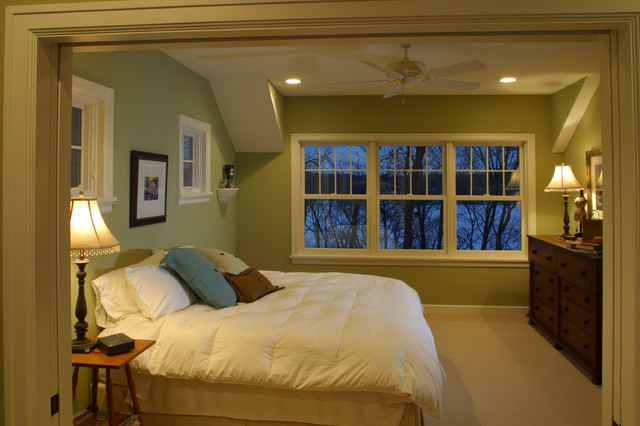 Farmhouse Cottage Master Bedroom traditional bedroom