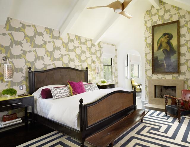 Fashionably Bold Contemporary Bedroom Orange County By Halo Interior Design