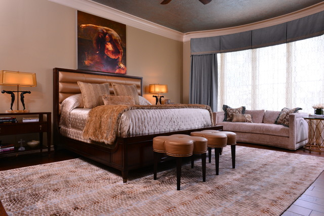Fashionista 39 s master bedroom transitional bedroom for Fashionista bedroom ideas