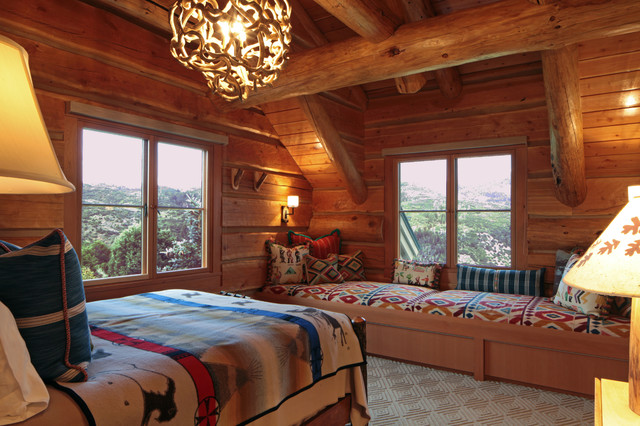 Fauth, Colorado rustic-bedroom