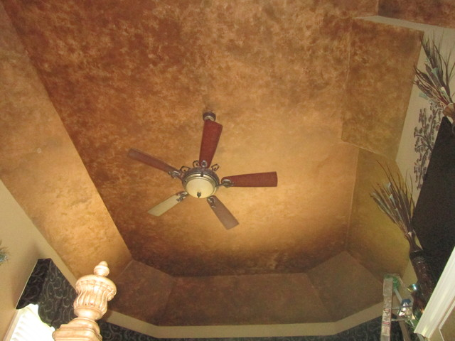 faux finish master bedroom ceiling rustic bedroom