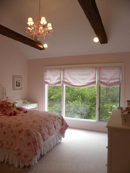 Faux Wood Girls Bedroom traditional-bedroom