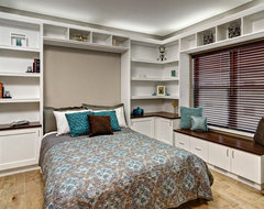 Featured Home Office/Murphy Bed Project contemporary-home-office