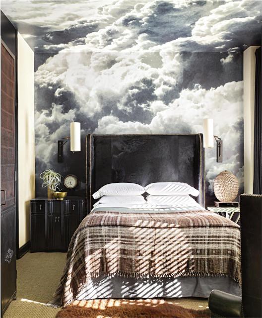 Bedroom - eclectic bedroom idea in Los Angeles