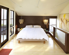 Feldman Architecture eclectic bedroom