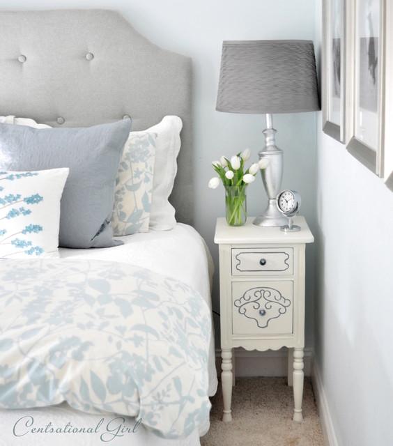 Feminine Bedroom Eclectic Bedroom