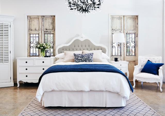 Feminine French Provincial Bedroom