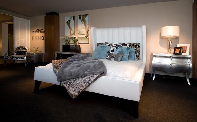 Fendi Designer of the month contemporary-bedroom