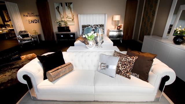 Exempel på ett modernt sovrum