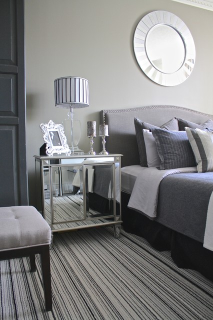 Fifty Shades Of Grey transitional-bedroom