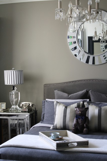 Fifty Shades Of Grey Transitional Bedroom Toronto By Nicholas