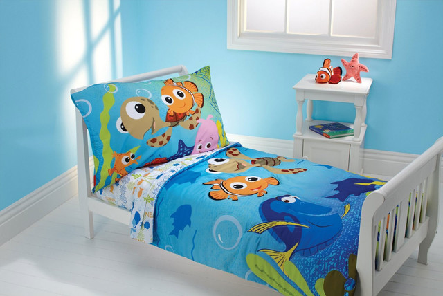 Finding Nemo Bedding And Room Decorations Modern Bedroom Jacksonville By Obedding