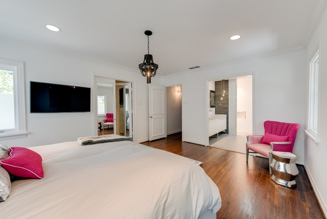 Finished House contemporary-bedroom